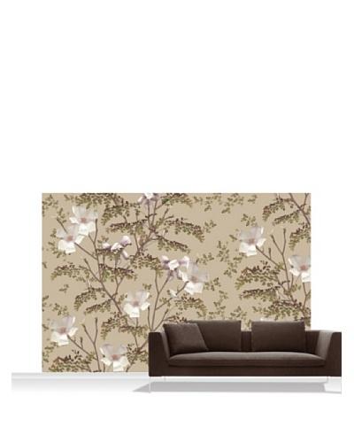 Michael Angove Magnolia - Caramel Standard Mural - 12' x 8'
