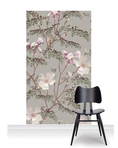 Michael Angove Magnolia - Mink Standard Mural [Accent]
