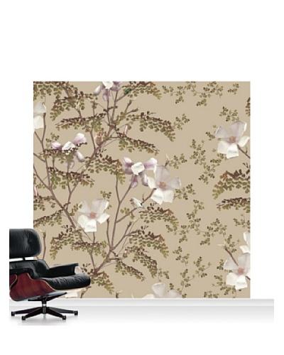 Michael Angove Magnolia - Caramel Standard Mural - 8' x 8'