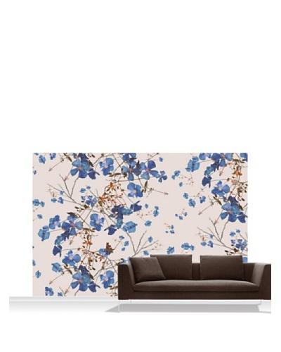 Michael Angove Clematis Powder Blue Standard Mural - 12' x 8'