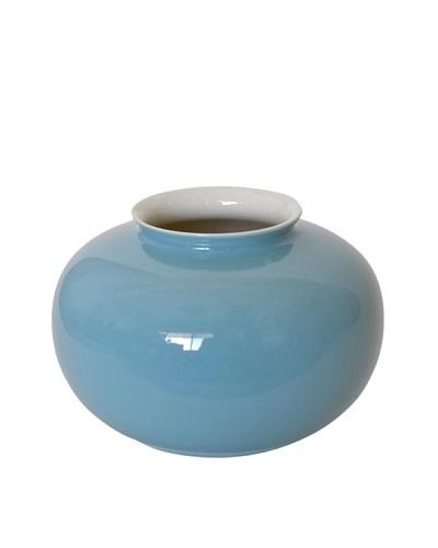Middle Kingdom Mini Apple Vase, Turquoise