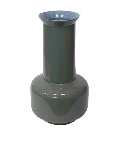 Middle Kingdom Sage Vase, Lavender/Steel Grey