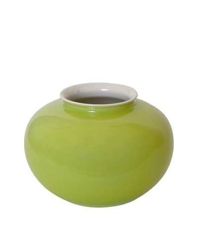 Middle Kingdom Mini Apple Vase, Apple Green