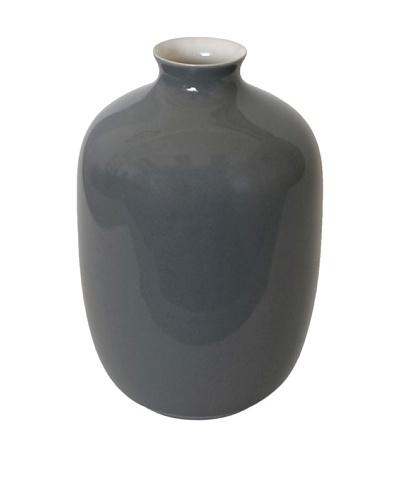 Middle Kingdom Mini Plum Vase, Steel Grey