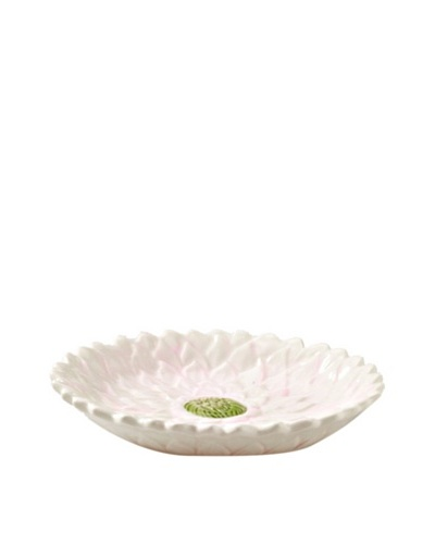 Mikasa Silk Floral Appetizer Plate, White/Pink/Green