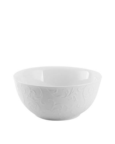 """Mikasa Parchment Engraved Vegetable Bowl, 10"""""""