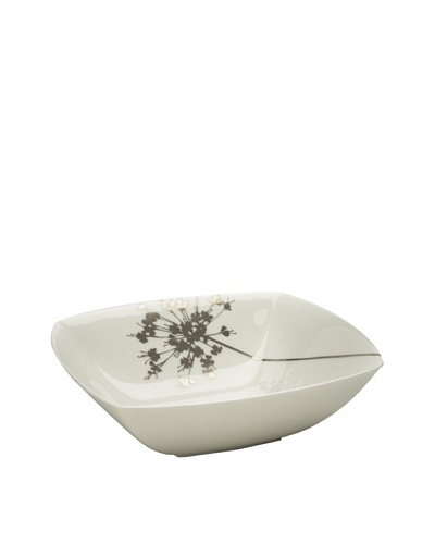 Mikasa Floral Silhouette Vegetable Bowl, 9.5