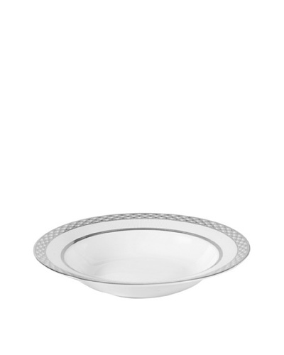 Mikasa Diamond Radiance Rimmed Soup Bowl, 9.5