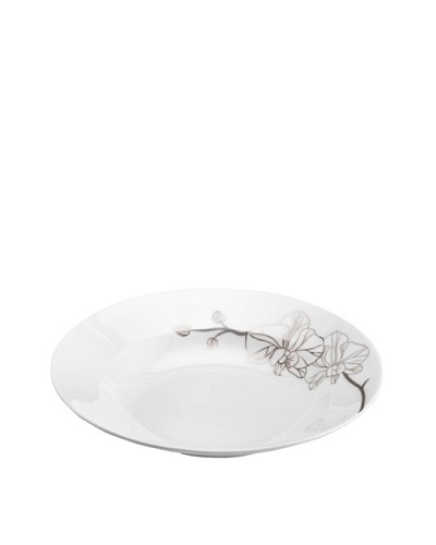 Mikasa Orchid Shimmer Rimmed Soup Bowl, 9