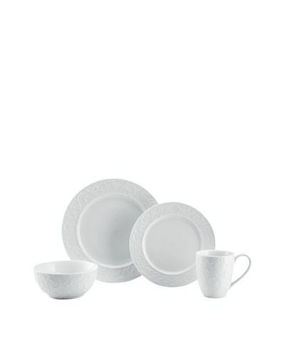 Mikasa Parchment Engraved 4-Piece Place Setting