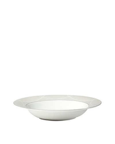 Mikasa Pearl Elegance Rimmed Soup Bowl, Off-White
