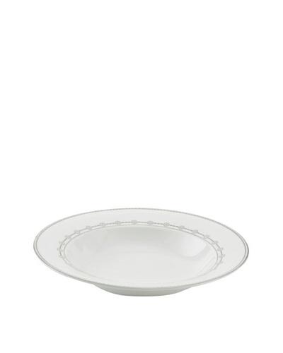 Mikasa Floral Strand Rimmed Soup Bowl, White