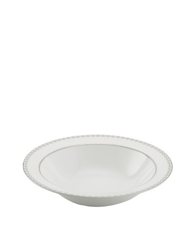Mikasa Floral Strand Vegetable Bowl, White