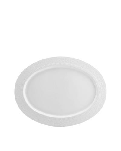 "Mikasa Countryside Scroll Oval Platter, 11"" x 14"""