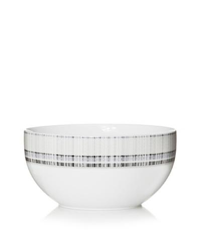 Mikasa 9.25 Medley Vegetable Bowl, White/Blue