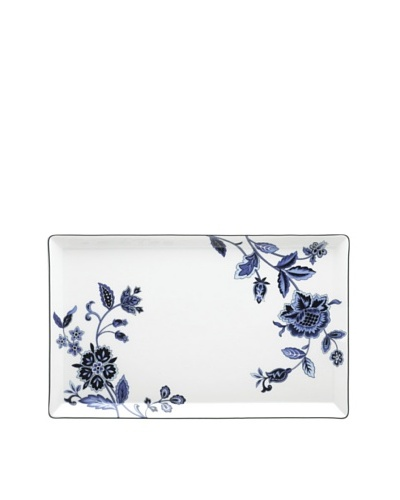 Mikasa Indigo Bloom 13 Rectangular Platter