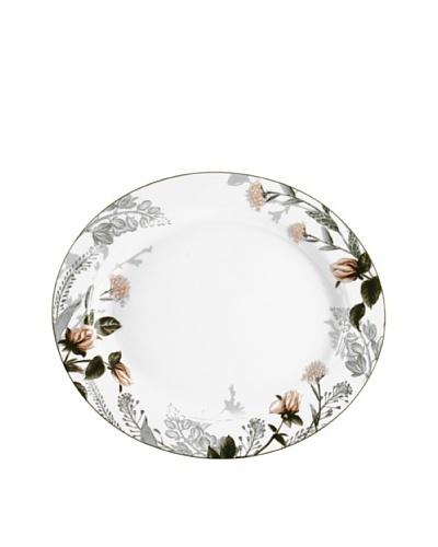 Mikasa Chateau Garden 14.75 Oval Platter, White