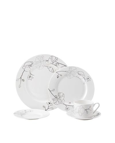 Mikasa Orchid Shimmer 5-Piece Place Setting