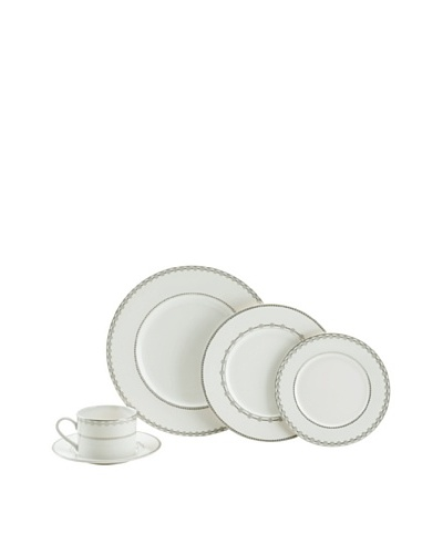 Mikasa 5-Piece Floral Strand Place Setting, White