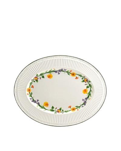 Mikasa Italian Meadow 15 Oval Platter