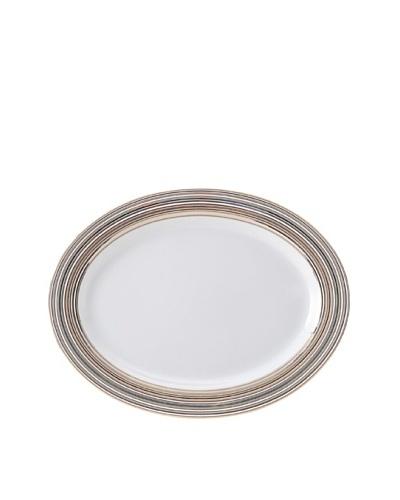 Mikasa Microstripe Oversize 16 Oval Platter