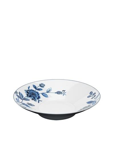 "Mikasa Indigo Bloom Oversize 16"" Round Serve Bowl"
