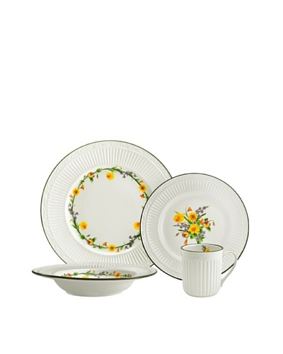 Mikasa 4-Piece Italian Meadow Place Setting