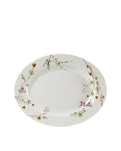 Mikasa Sketch Floral 14 Oval Platter