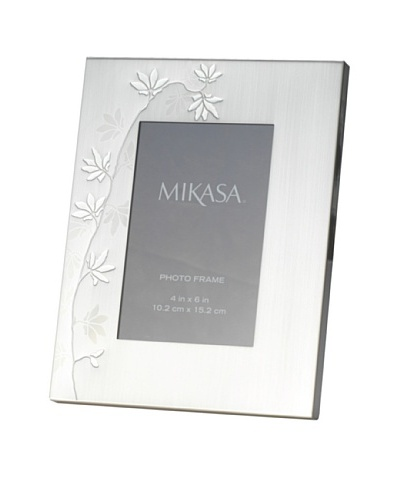 Mikasa Modern Floral Silver-Plated Frame