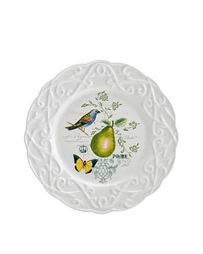 Mikasa Antique Countryside Pear Appetizer Plate