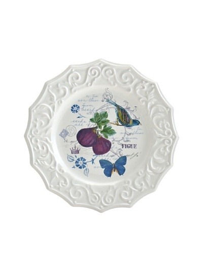 Mikasa Antique Countryside Fig Appetizer Plate