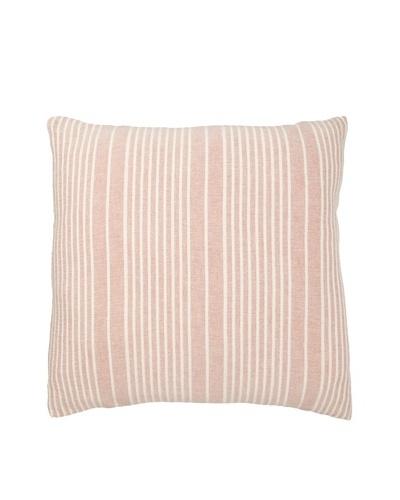 Mili Design NYC Stripes Pillow, Red, 22 x 22