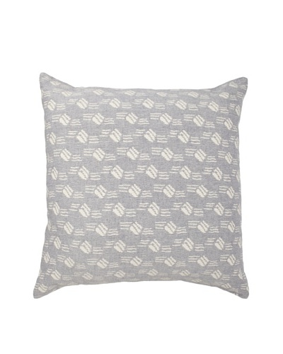 Mili Design NYC Bubbles Pillow, Blue, 22 x 22