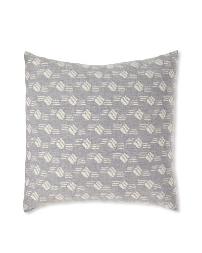 "Mili Design NYC Bubbles Pillow, Blue, 20"" x 20"""