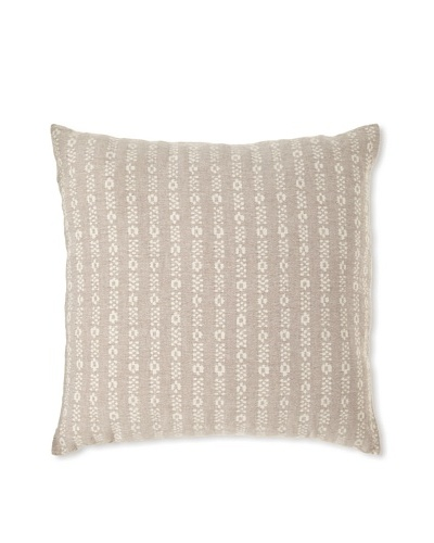 Mili Design NYC Waves Pillow, Taupe, 20 x 20