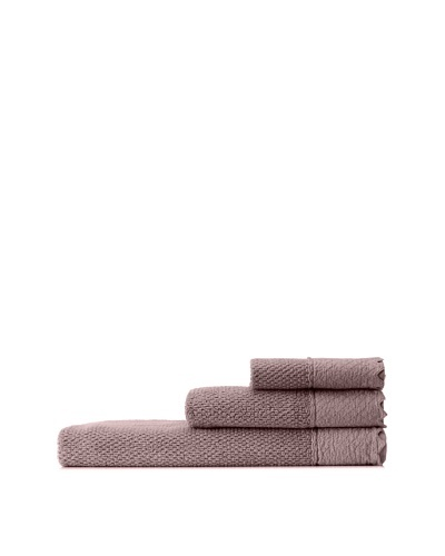 Mili Designs NYC Stonewash Towel Set, Chocolate