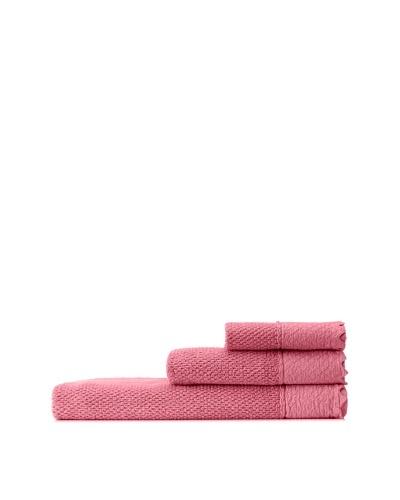 Mili Designs NYC Stonewash Towel Set, Terracotta