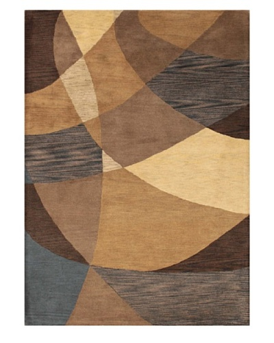 Mili Designs NYC Shadow Patterned Rug, Multi, 5' x 8'
