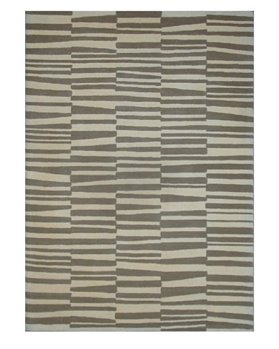Mili Designs NYC Overlapping Lines Rug, 5' x 8'