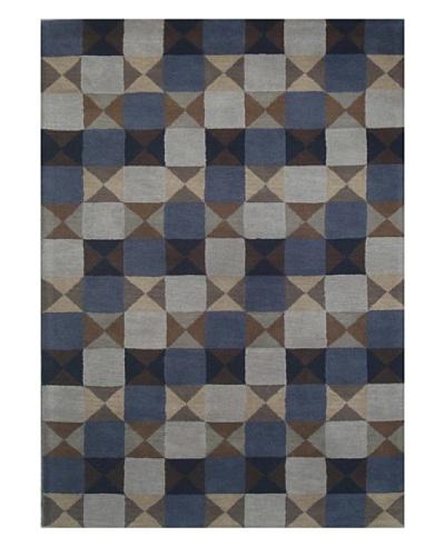 Mili Designs NYC Cubes Rug, 5' x 8'