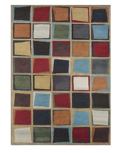 Mili Designs NYC Segments Rug, 5' x 8'