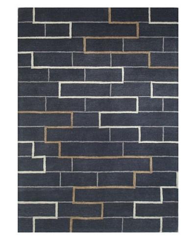 Mili Designs NYC Bricks Rug, 5' x 8'