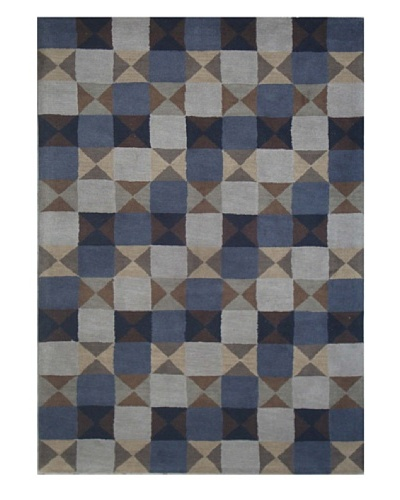 Mili Designs NYC Squares Rug, 5' x 8'