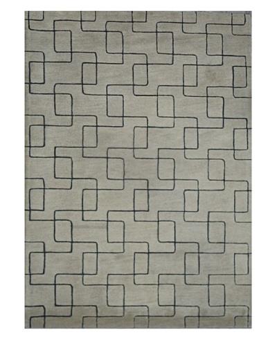 Mili Designs NYC Lines Rug, 5' x 8'