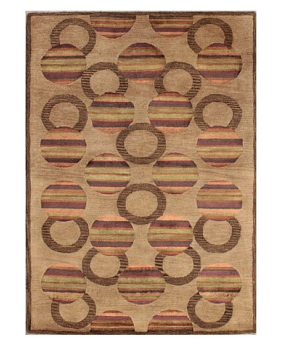 Mili Designs NYC Casablanca Patterned Rug, Tan/Multi, 5' x 8'