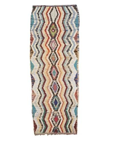 Mili Designs NYC Boucherouite Rug, Multi, 3' 6 x 10' Runner
