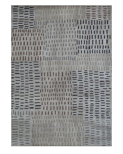 Mili Designs NYC Cross Hatch Rug, 5' x 8'