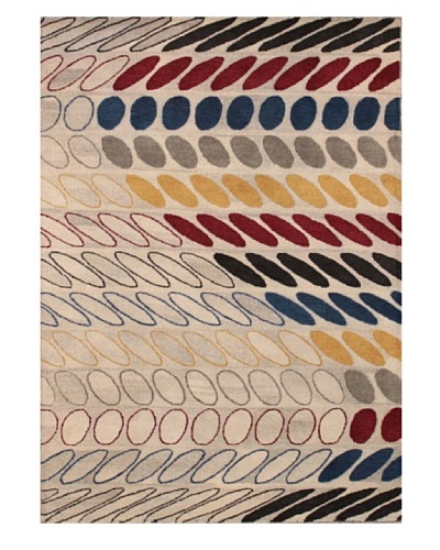 Mili Designs NYC S Patterned Rug, Multi, 5' x 8'