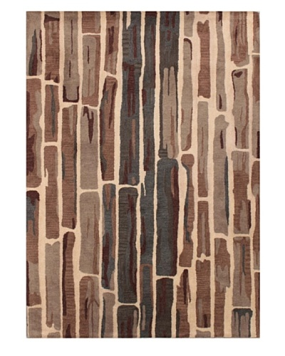 Mili Designs NYC Planks Rug, 5' x 8'