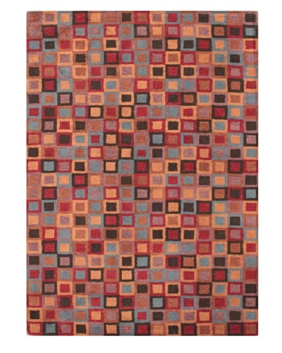 Mili Designs NYC Magical Patterned Rug, Multi, 5' x 8'